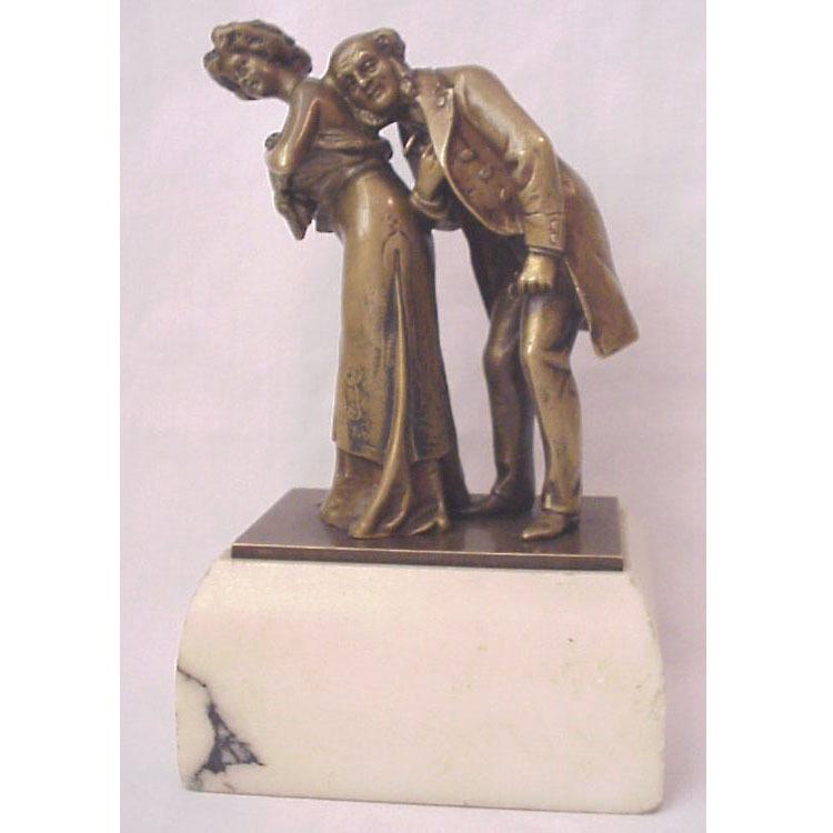 """The Cardiologist"" Vienna Bronze Naughty by Carl Kauba"