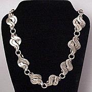 William Spratling Silver Necklace - Circa 1942