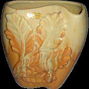 Royal Haeger by Royal Hickman Tropical Leaf Vase