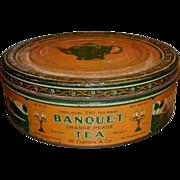 Banquet Tea Advertising Tin - McCormick Baltimore