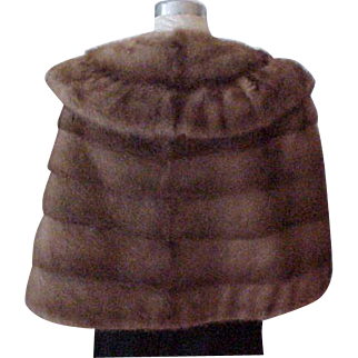 Mink Stole - Medium Brown - Size Medium to Large