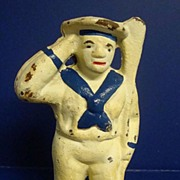 Cast Iron Sailor Bank