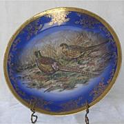 Fake Royal Vienna Pheasant Decorated Plate