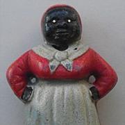 Cast Iron Bank - Aunt Jemima Mammy - Black Americana
