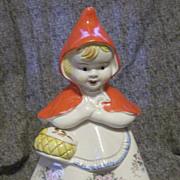 McCoy Little Red Riding Hood Cookie Jar