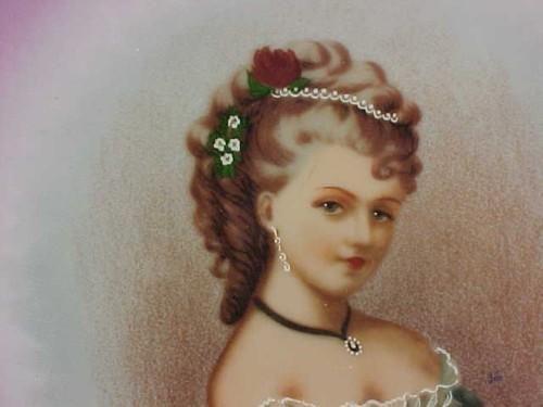 Fake 'Bayreuth' Porcelain Portrait Plate