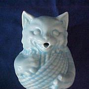 Vintage McCoy Pottery Cat String Holder
