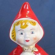 McCoy Rare Red Riding Hood Planter