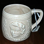Queen Elizabeth Coronation Mug, 1953