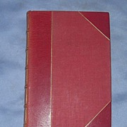 The Poems of John Masefield, Leather Spine and Corners