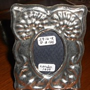 Small Silver Picture Frame, Edwardian