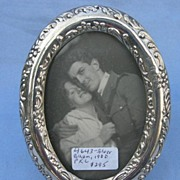 Silver Frame, Oval, Late Victorian