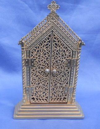 Ormolu frame, Gothic, Late Victorian