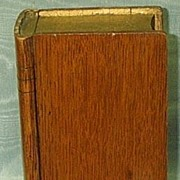 Oak Collecting Box,  (Book) Victorian