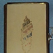 Celluloid Church Of England Prayerbook, 1869