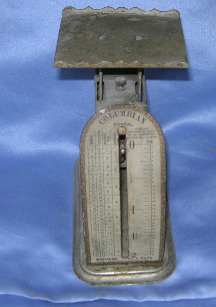 Columbian Postal Scale, Victorian