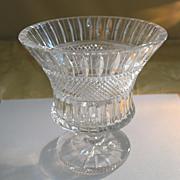 Cut crystal vase or champagne cooler