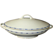 J C Trianon Bavaria Covered Vegetable Bowl 3890 Early 1900s