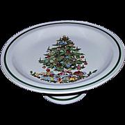 Christmas Cake Plate Stand Pedestal Base Japan