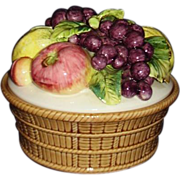 Colorful Fruit Basket by Arnart Original Creations M4073N JAPAN