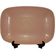 Brookpark Pink Melmac Platter