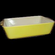 Pyrex Yellow Refrigerator Dish #0503 1-1/2 Quarts