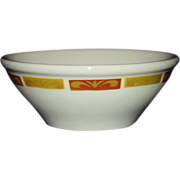 Mayer Restaurant Ware Soup Cereal Bowl 1972