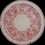 Syracuse Restaurant Ware Econo-Rim Dinner Plate Railroad Pattern 50875
