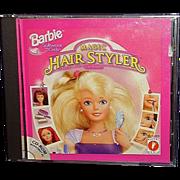 "BARBIE Software ""Magic Hair Styler"" CD-Rom by Mattel Media"