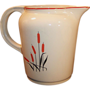 Universal Cambridge Potteries Cattail 40 OZ Pitcher / Jug