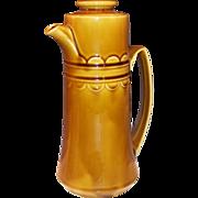 1960's Homer Laughlin Granada Harvest Gold Coffee Pot