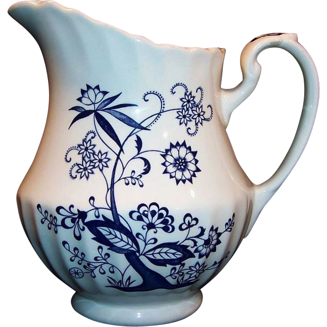 J & G Meakin BLUE NORDIC 40 Ounce Pitcher