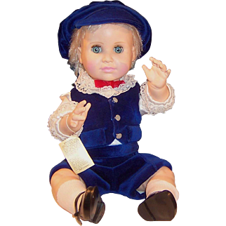 """18"""" Royal Nisbet Baby Doll; Prince William in His Sunday Best"""