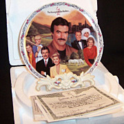 The Young & The Restless: VICTOR'S EMPIRE Collector's Plate