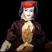 Early Bonnet China doll