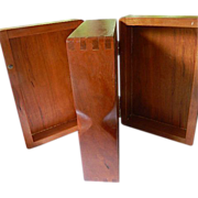 Great looking-hand made- Double compartment Box
