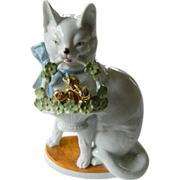 "German porcelain ""Cat"" figure"