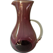 Elegant-Amethyst glass Pitcher
