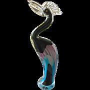 Spectular cased glass Bird figure