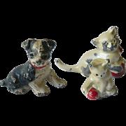 Vintage lead animal Figures