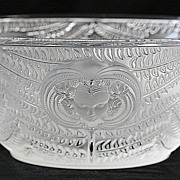 """Lalique """"Psyche"""" Pattern Crystal Bowl"""