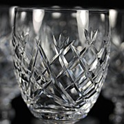 """Waterford """"Donegal"""" Water Goblets"""