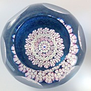Caithness Whitefriars Butterfly Paperweight