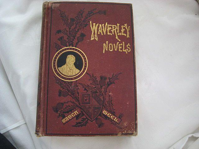 Victorian Book - Waverley Novels by Sir Walter Scott - Dated 1882