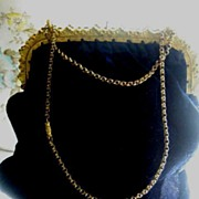 Beautiful Dark Blue Velvet Vintage Purse