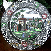 Beautiful English Midwinter Ten-Inch Plate in Perfect Condition