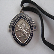 Scottish ballroom Dancing Award Medal