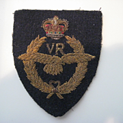 Royal Air Force Bullion Badge, Volunteer Reserve