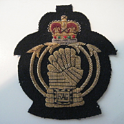 "British Army bullion Badge ""RAC"""