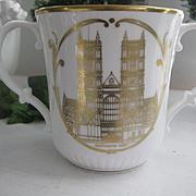 Royal Doulton Coronation 25th Anniversary Loving Cup